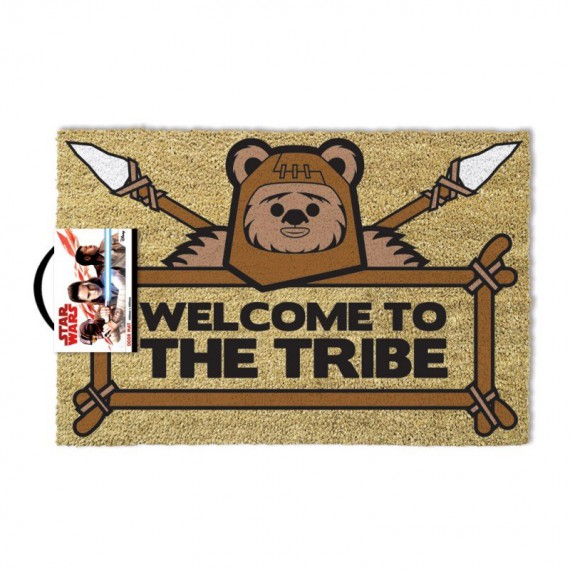 paillasson star war ewoks welcome to the tribe. Black Bedroom Furniture Sets. Home Design Ideas