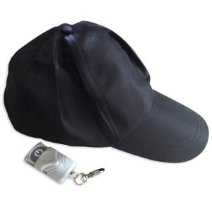 Casquette espion avec camera télécommandée