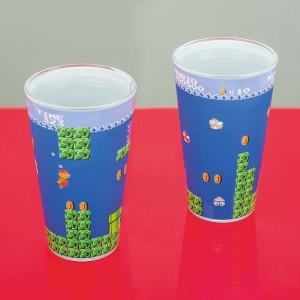 Verre Nintendo Super Mario Bros sous l'eau