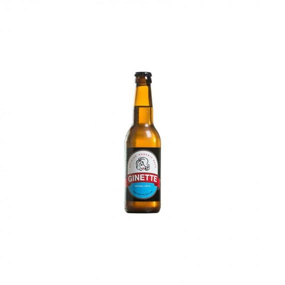 Bière blanche - GINETTE WHITE 0.33L