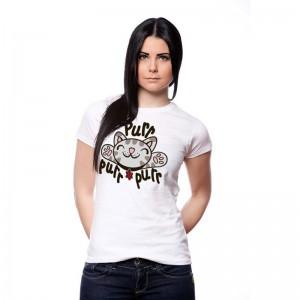 "Tshirt chat - Soft Kitty ""Purr Purr Purr"""