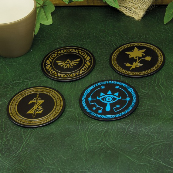 Dessous de Verre en métal - Zelda