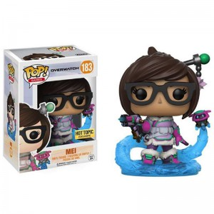 Figurine POP Overwatch - Mei Snowball Colour