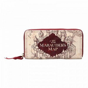 Portefeuille Harry Potter - Carte du Maraudeur