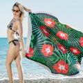 Serviette de plage anti-sable - Flower