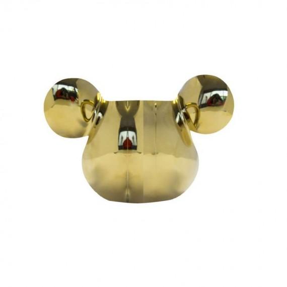 Coquetier Disney - Mickey Mouse 3D doré