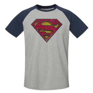 Tshirt DC Comics - Superman Baseball