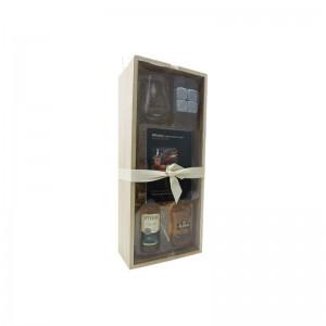 Coffret Whisky Speyburn et Jura + 1 verre + pierres