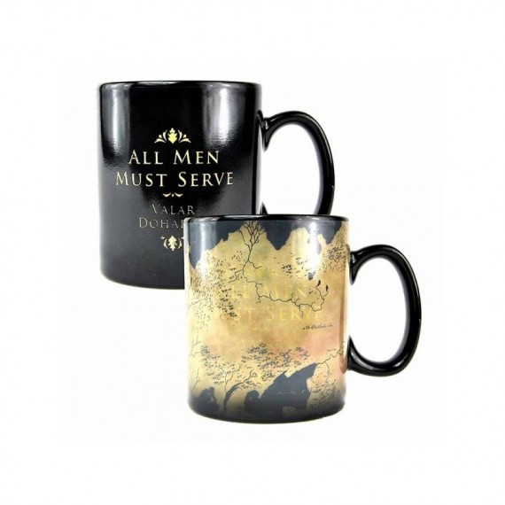 Mug Game of Thrones Carte de Westeros