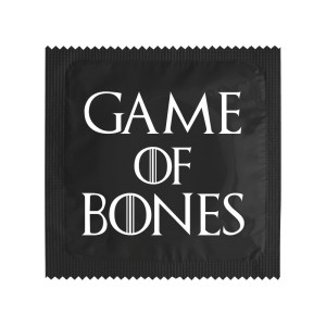 Préservatif - Game of Bones