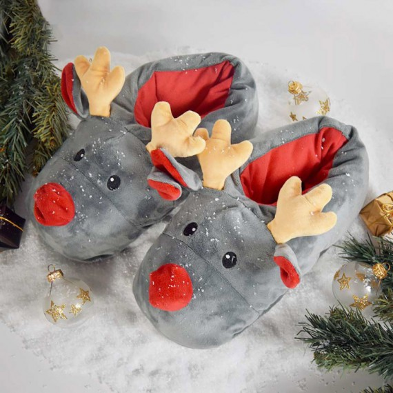 Chaussons Rudolph le renne