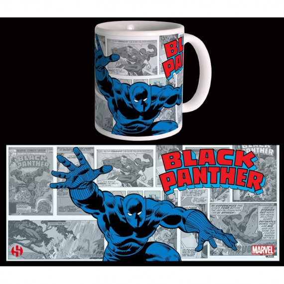 Mug rétro Marvel - Black Panther