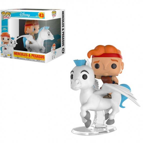 Figurine Disney - Hercules et Pégase Pop 10 cm