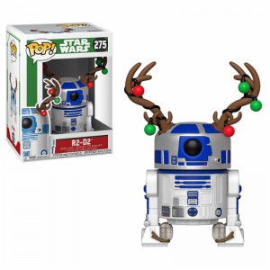 Figurine Pop Star Wars - R2D2 fête Noël