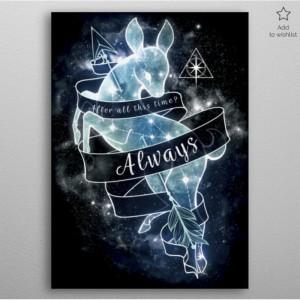 Poster en Métal Harry Potter Always