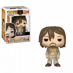 Figurine POP Walking Dead Daryl in Prison Outfit (Exclusive)