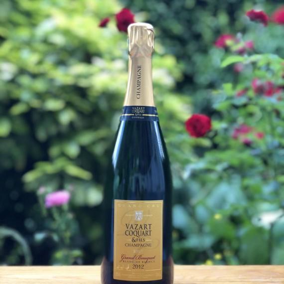 Adopte une vigne de Champagne Grand Bouquet 2012 - Domaine Vazart-Coquart
