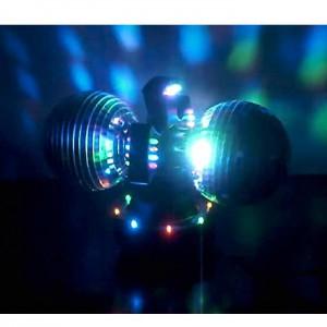 Boules disco avec moteur