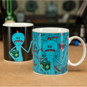 Mug effet thermique Rick & Morty Mr Meeseeks