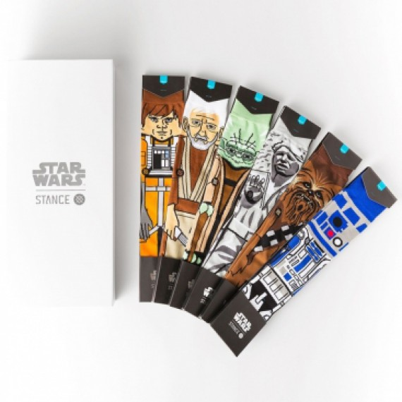 Coffret 6 paires de chaussettes Stance - Star Wars - The light side