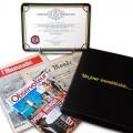 Offrez le véritable journal de votre naissance ! Offre luxe