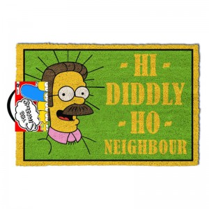 Paillasson The Simpsons Hi Diddly Ho Neighbour