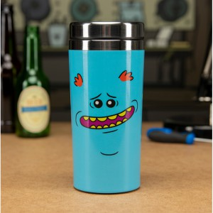 Le mug de voyage Rick & Morty - Mr Meeseeks