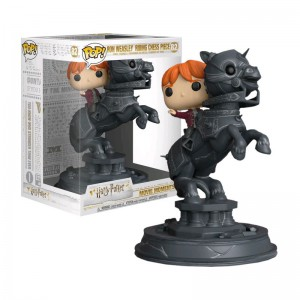 Figurine Pop Harry Potter - Ron chevauchant un cavalier