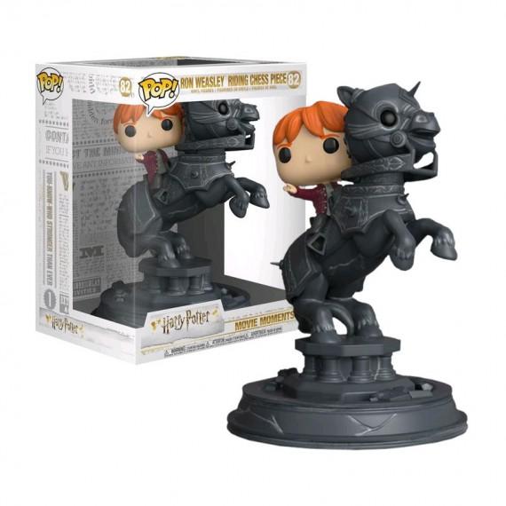 Figurine Pop Harry Potter - Ron chevauchant un cavalier