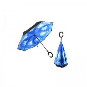 Le parapluie ciel bleu