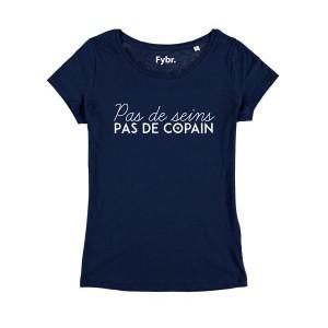 T-shirt femme - Pas de seins, pas de copain