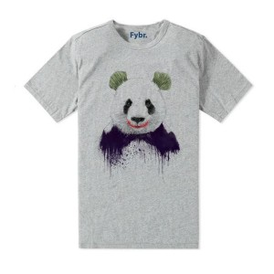 T-shirt imprimé Panda Joker