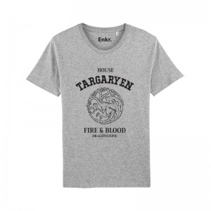 T-Shirt Targaryen Game of Thrones Fire and Blood