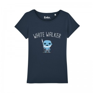 T-shirt White Walker