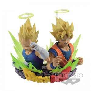 Figurine Dragon Ball Z Gogeta Goku & Vegeta