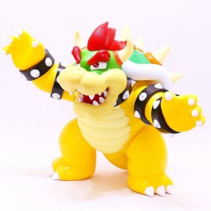 Figurine Super Mario - Bowser Big Action 30cm