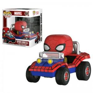 Figurine POP Marvel - Spider-Mobile de Spiderman