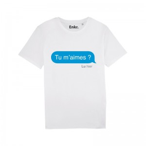 T-shirt - J'men fous j'y vais au talent