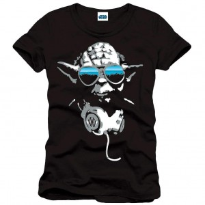 "T-Shirt Unisexe - Star Wars ""Yoda DJ"""
