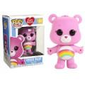 Figurine Care Bears/Bisounours - Cheer Bear Pop 10cm
