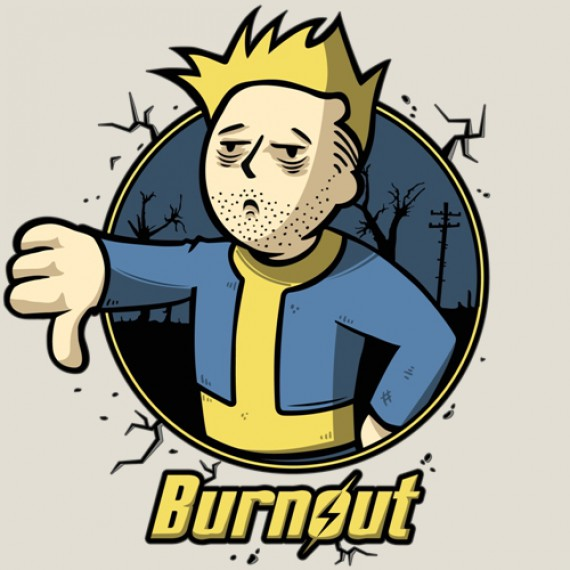 T-shirt - Fallout ou Burnout