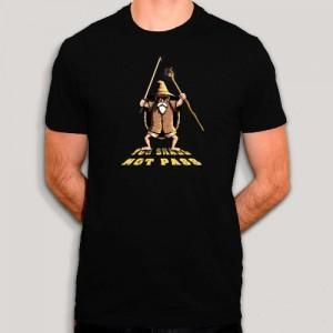 T-shirt - Tortue Géniale et Gandalf