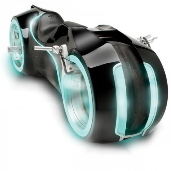 The Light Cycle : La moto de Tron en vrai