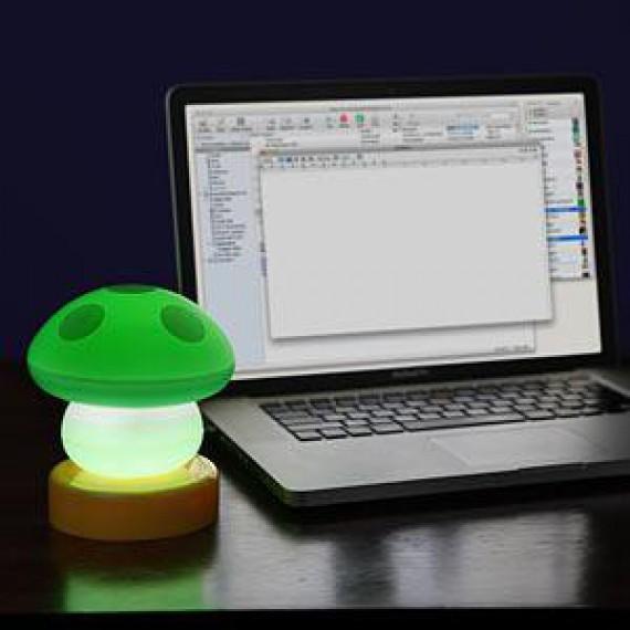 Lampe champignon USB