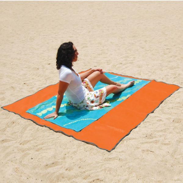 Tapis de plage anti sable, la serviette révolutionnaire | CSR