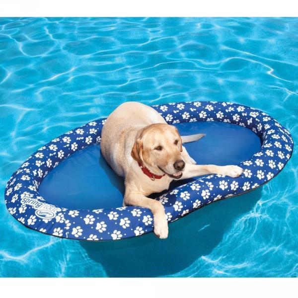 Panier pour chien flottant for Piscine pour chien