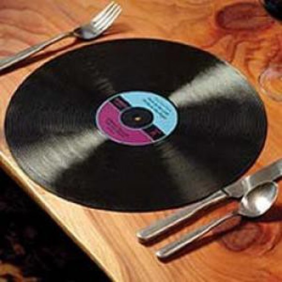 Table rabattable cuisine paris set de table vinyle for Set de table originaux