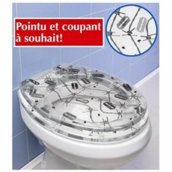 Abattant wc r sine barbel - Lunette de toilette originale ...