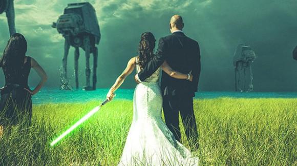 Quand des Geeks se marient