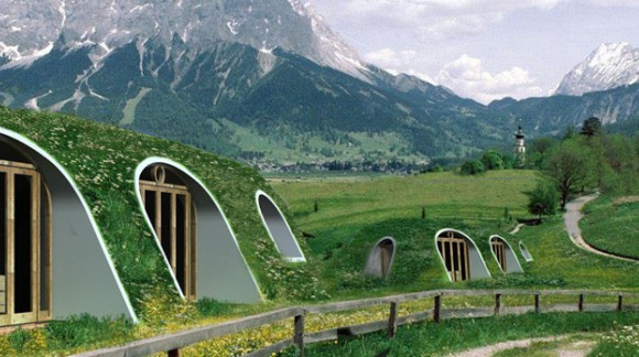Une vraie maison de Hobbit en kit !